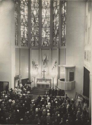 Inauguration Ste Agnès, 11 JUIN 1933 Bénédiction des cloches